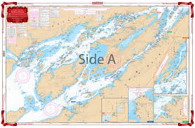 The Thousand Islands Navigation Chart 78