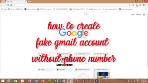 Phone Account How Number 2017 To - Youtube Fake Gmail Create Latest Trick Without