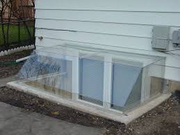 Basement Window Well Covers Atrium Dome Clear Are Designed In Design Decorating