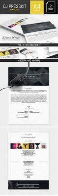 dj resume maker press kit resume and templates