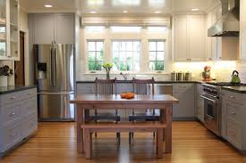 Image Of Classic Two Tone Kitchen Cabinets Color Ideas
