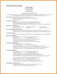 Endearing Liberal Arts associate Degree Resume with Additional 8 associates  Degree On Resume