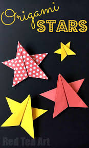 easy origami stars super lovely paper stars five pointed paper stars perfect as decorations new year s decorations or even bookmark them for