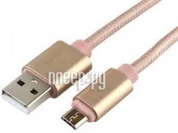 <b>Аксессуар Gembird Cablexpert Ultra</b> USB 2.0 AM/microB 3m Gold ...