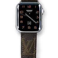 Designer 38mm Apple Watch Bands Louis Vuitton Apple Watch Band W Stitch Glimpx