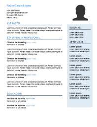 Formatos De Curriculum Vitae En Word Gratis 50 Plantillas De Curriculum Vitae En Word Para Rellenar Gratis