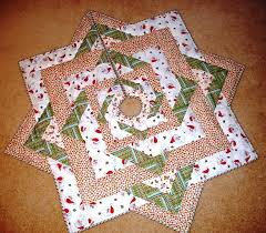 Free Quilt Pattern: Stars All Around Christmas Tree Skirt from EZ Quilting