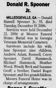 05jan2007 don spooner jr.OB - Newspapers.com