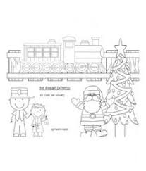 Small Picture Free Polar Express Coloring Pages Free Homeschool and School