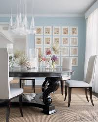 i love the contrast of the dark wood with the light blue paint and white accents