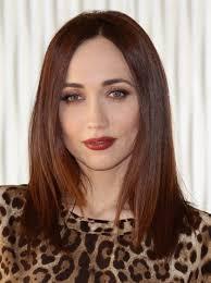 chiara francini um length straight hair styles