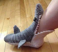 Crochet Shark Slippers Pattern Free Beauteous 48 Häkelmuster Für Coole Accessoires Ergänzen Sie Ihr Outfit