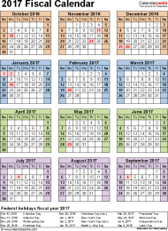 Calendar Year Quarters Quarters Fiscal Year Calendar 2016 Calendar Fiscal Year