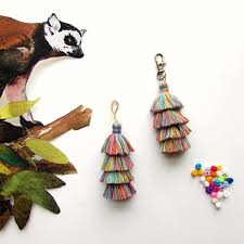 2pcs colourful multi layer tassels for diy chandelier earrings layered tassels 8 cm 4 layer multi colour jewellery diy tassels earrings