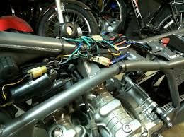wiring one up moto garage the master cylinder i installed has a brake light switch built in so i wired that into the harness so