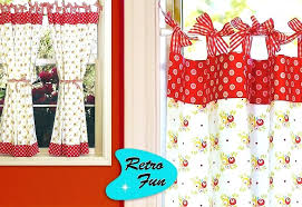to enlarge red gingham kitchen curtains kitchen curtains interior home perfect red gingham