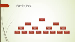Family Tree Hierarchy Chart Family Tree Chart Vertical Green Red Widescreen