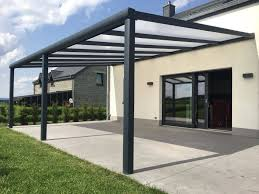 aluminum patio cover with polycarbonate
