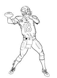 Small Picture Denver Broncos Coloring Page Fun Times Broncos Football