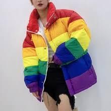 <b>rainbow down</b> jacket