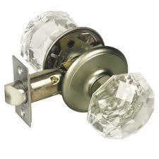 Image Satin Nickel Image Unavailable Amazoncom Gainsborough Sonata Crystal Door Knob Set locking Bed Bath Satin