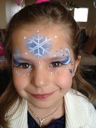 frozen princess simple face painting by jennifer van