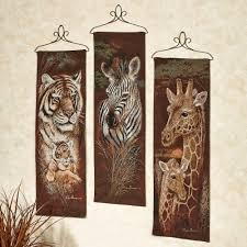 >image gallery of safari metal wall art view 2 of 20 photos  safari animal wall tapestry panel set within 2018 safari metal wall art gallery 2 of