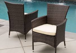 Patio Outdoor Saucer Chair 2 Seater Wicker Outdoor Furniture