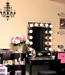 Makeup Dresser Bath Shower Vanity Table With Mirror Lighted Makeup Vanity