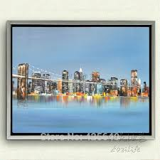 aliexpress com buy new york city painting home decor home