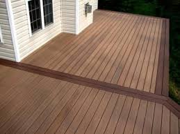 wolf composite decking. Beautiful Wolf WOLF PVC Decking Using Amberwood Deck Flooring And Rosewood Border To Wolf Composite Decking C