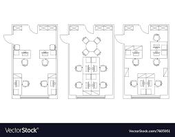 floor plan furniture vector. Floor Plan Furniture Vector