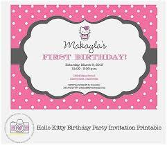 Free Printable Hello Kitty Baby Shower Invitations Luxury Free Hello