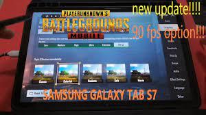 SAMSUNG GALAXY TAB S7 | PUBG MOBILE 90 FPS Option | IPAD PRO 2020  alternative? - YouTube