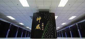 Resultado de imagen para chinese supercomputer