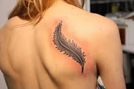 Krásné Tetování Křídla Na Zádech