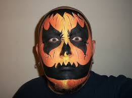 Scary Pumpkin Painting Wicked Pumpkin Halloween Face Painting Marvelous Masks Chicago