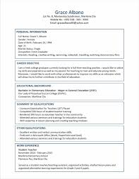 Alluring Recommended Resume Format 2014 For Best Resume Examples