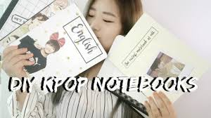 Exo Notebook Design Diy Back To School Kpop Notebooks Bts Exo Edition