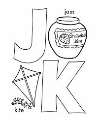 d26cf5baf469f6fbab0f9d9e7ecae5ef abc primary coloring activity sheet j k is for jam kite on 1st grade alphabetical order worksheets