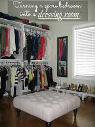 Turning A Small Bedroom Into A Closet Decor Design