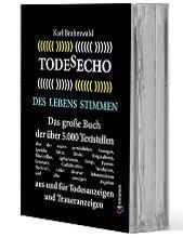 9783939832713 Karl Brahmwald Todesecho Des Lebens Stimmen