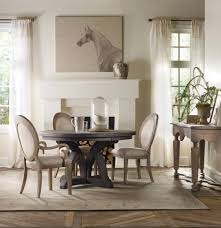 48 inch round dining table wood