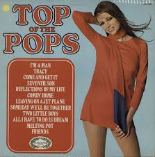 1970 Chart Hits Top Of The Pops Top Of The Pops Volume 9 Uk Vinyl Lp Album