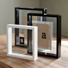 modern picture frames. Floating Lacquer Frames Modern By West Elm. Picture