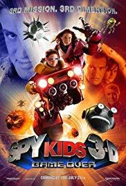 spy kids 3 d game over poster