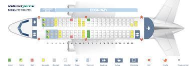 seat map boeing 737 700 westjet