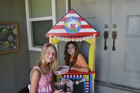 party on a budget backyard carnival party catch my party homemade ticket booth