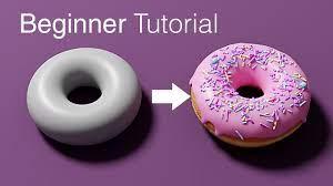 Blender Beginner Tutorial - Part 1 - YouTube