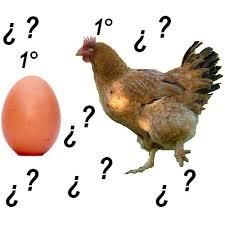 Resultado de imagen de imagenes del huevo y la gallina